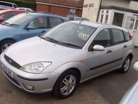 2005 ford focus zetec 1.8 5 door mot april 2017 service history 2 owners same family £795 ono