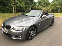 2010 bmw 330d m sport convertible e93 facelift model immaculate in and out