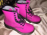 New pink Dr Martin boots