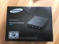 Samsung Wireless Audio-Multiroom Hub New Boxed WAM250