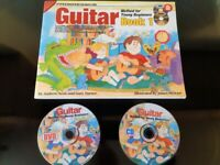 Learn to Play guitar Children's Book, DVD & CD