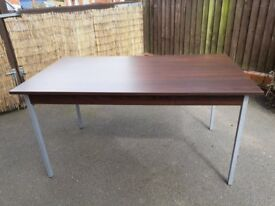 Office, reception or craft table 140x80x72cm high