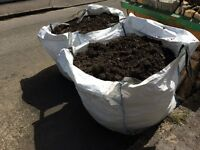 Two large bags of soil - free for collection
