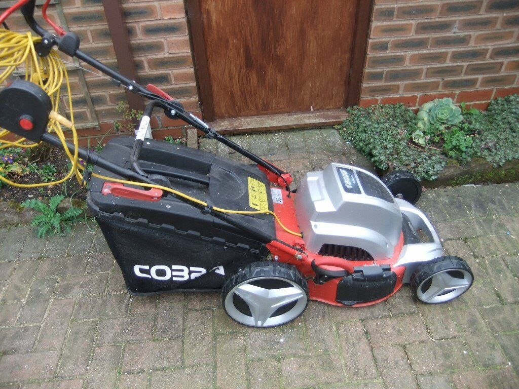cobra electric lawnmowerin Hedon, East YorkshireGumtree - Cobra electric self propelled rotary lawnmower, it is in exellent condition and hardly used