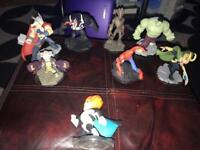 8 Disney infinity figures-1 been for infinity 1 but works on 2