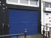 Workshop with Shop Front to Let