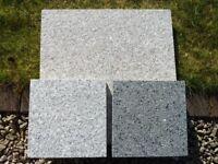 Natural Granite Paving / Patio Slabs - Mixed Pink & Grey - Unused