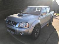 2005 54 Nissan Navara d22 2.5di 4x4 no vat
