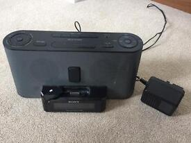 Sony bedside fm radio