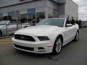2013 Ford MUSTANG CONVERTIBLE/CUIRCOMMANDE AU VOLANT