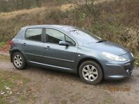 Peugeot 307 Petrol 1.6 Low mileage