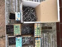 Assortment of screws and nails £4 the lot,walkergate area.