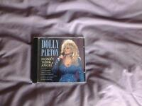 "CD. DOLLY PARTON "" HONKY TONK ANGEL""."