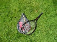 "A classic Tennis Racket ""Wilson SPS superlight, power series"""