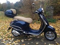 Vespa Primavera 50cc Midnight Blue