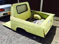 Triumph Herald modified into a Pickup rear tub very Unusual