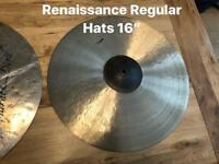 Murat Diril Cymbals. Various. As new. Prices listed.