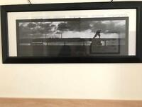 Long picture frame