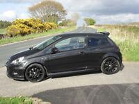 Vauxhall Corsa VXR Nurburgring Edition, Full Leather Recaros, AFL Headlights, Black, Turbo