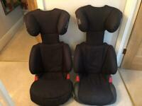 2 Britax Discovery Child Booster Car Seats 15-36kg