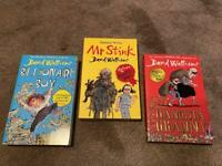 Brand New David Walliams Books, (Set of Three)