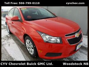 2014 Chevrolet Cruze 1LT - 7 Touch Screen, Rear Camera, XM, Remo