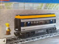Brand New Sealed Lego City Passenger Diesel Train Buffet Dining Food Carriage Bogey 60197