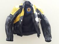 Ladies motocycle jacket size 10