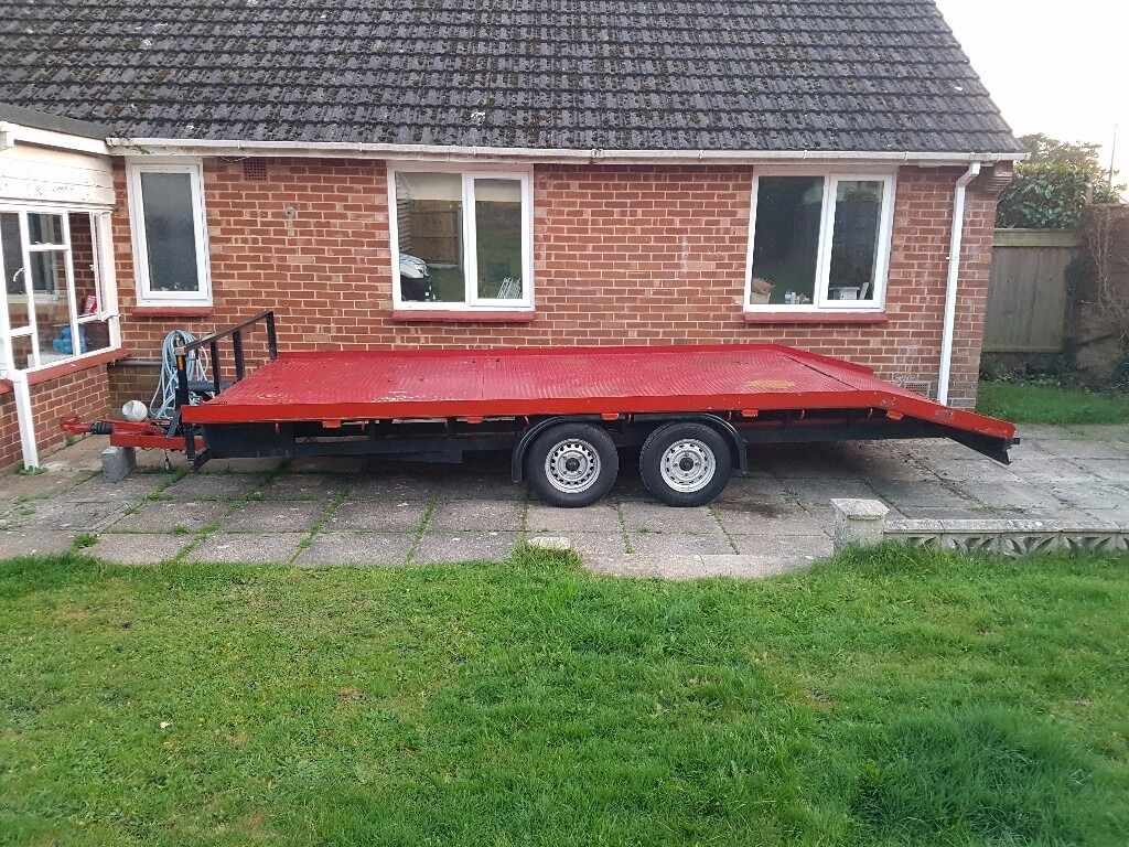 CAR TRAILER TRANSPORTER RECOVERY