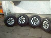 Japanese alloy wheels and tyres
