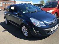 2012 Vauxhall CORSA 1.2 Active , mot - MAY 2019 , only 24,000 miles , 1 owner from new,fiesta,clio