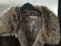 Ladies sheep skin coat