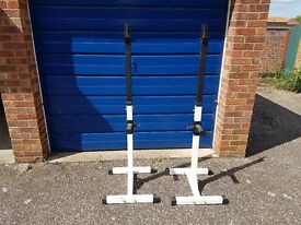 ***SOLD*** Heavy Duty Squat Stands