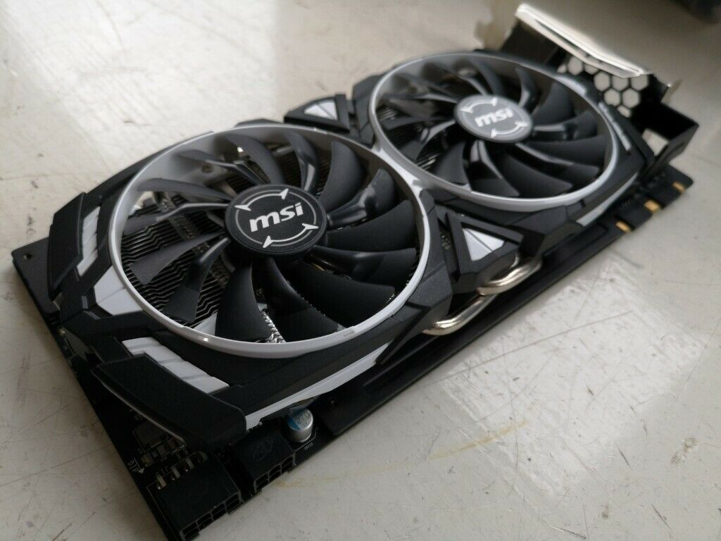 MSI NVIDIA GeForce GTX 1070 Ti 8GB ARMOR Graphics Card £280 no Offers | in  Manchester | Gumtree