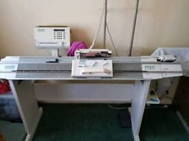 Passap e6000 knitting machine