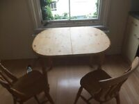 Free Table & Chairs