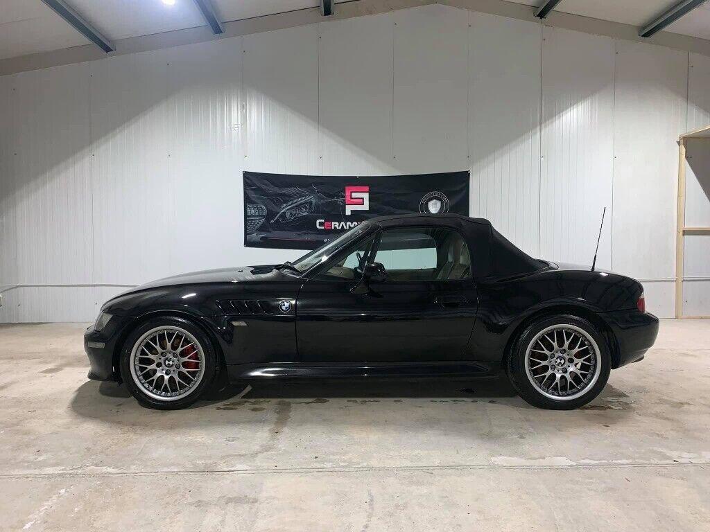 2001 Bmw Bmw Z3 Black Tan Leather Bbs Bmw Alloys 105k