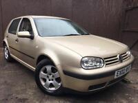 2002 (02) Volkswagen Golf 1.9 TDI Full Cream Leather Interior Heated Seat Top Rear Spec