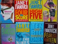 8 - Janet Evanovich - Stephanie Plum Books