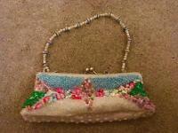Pretty clutch bag/ purse