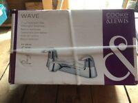 cooke & lewis wave bath tap