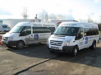 We want to SWAP our well running family coach company for property or plot in any condition