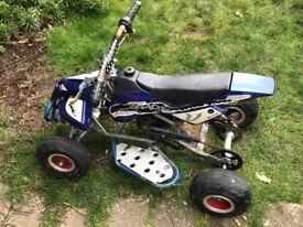 Mini petrol quad bike
