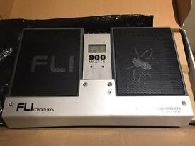 Brand new 4 channel Fli amplifier - 900 watts