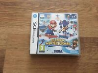Mario & Sonic at the Olympic Winter Games DS Game