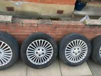 Ford Mondeo MK4 wheels and tires