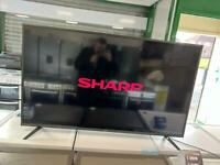 Sharp 55 inch 4k ultra smart led tv with remote