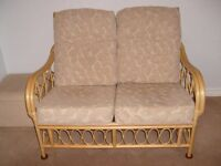 2 Seater Cane Seat