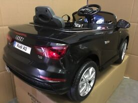 AUDI A3 S Line 12v KIDS RIDE IN CAR WITH REMOTE CONTROL