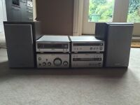 Sony HI-FI System with Radio,CD,and MD